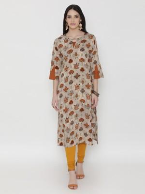 Shree Casual Printed Women Kurti(Multicolor)
