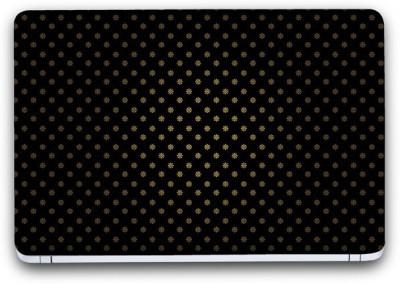 """Flipkart SmartBuy Black Texture 18 Vinyl Laptop Skin (3M/Avery Vinyl, 13\"""" x 8.5\"""") Vinyl Laptop Decal 13.3"""