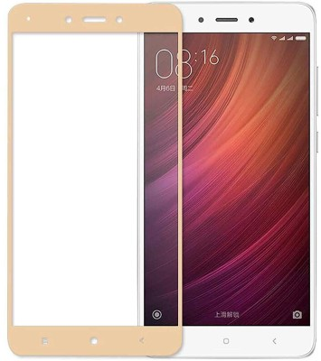 House of Quirk Edge To Edge Tempered Glass for Mi Redmi Note 4(Pack of 1)