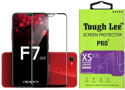 Tough Lee Tempered Glass Guard for OPPO F7(Pack of 1)