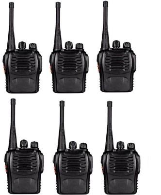 Baofeng Bf-888S-Way Radios Walkie-Talkies Long Range Handheld Radios 6Pcs Walkie Talkie(Black) at flipkart