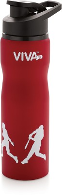 H2O Sb104 Stainless Steel Sports 750 ml Water Bottle(Set of 1, Red)  available at flipkart for Rs.295