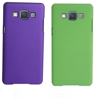 COVERNEW Back Cover for Samsung Galaxy J7   2015 Purple, Green