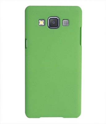Coverage Back Cover for SAMSUNG Galaxy E7 Green Coverage Plain Cases   Covers