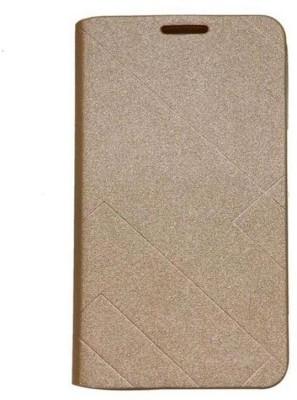 Yunic Flip Cover for Motorola Moto G5 Plus Gold