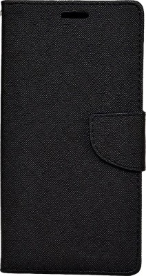 Avzax Flip Cover for Kingstar Titans 2(Black, Dual Protection, Artificial Leather)