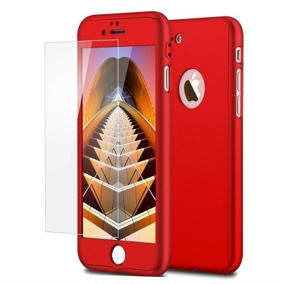 DHAN GTB Front & Back Case for Front & Back Case for Apple iphone 4G(RED, Plastic)