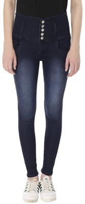 Nifty Jeans Slim Women Blue Jeans