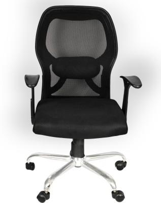 Flipkart Perfect Homes Howard Fabric Office Executive Chair(Black)