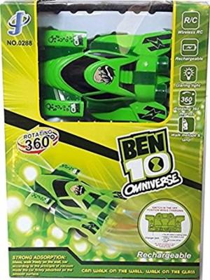 Ben 10 KRIREEN TOYS BEN 10 WALL CLIMBING CAR(Green)