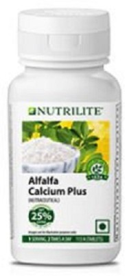 Amway Nutrilite Alfalfa Calcium Plus, 113 tablets(113 No)
