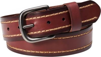Levi's Men Tan Genuine Leather Belt
