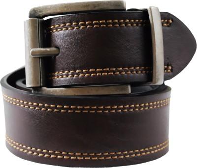 Levi's Men Brown, Black Genuine Leather Belt