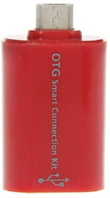 Oxza Smart OTG Connection kit Card Reader(Red)