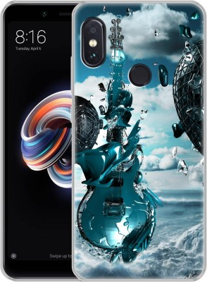 Fashionury Back Cover for Mi Redmi Note 5 Pro(Multicolor, Waterproof, Silicon)