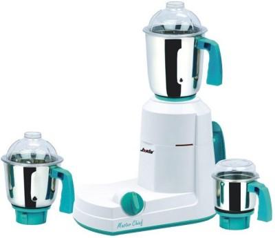 JONTY Master chef mixer grinder 750 W Mixer Grinder(white with blue, 3 Jars)