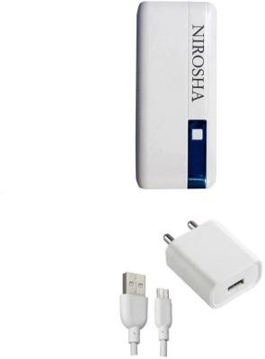 NIROSHA Charging Pad Accessory Combo for Redmi Note 4 Multicolor