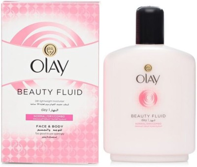 OLAY Beauty Fluid for Normal/Dry/Combinational Skin Face & Body - Imported(200 ml)