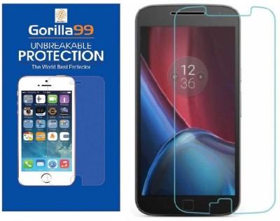 Gorilla99™ Tempered Glass Guard for Motorola Moto C Plus(Pack of 1)