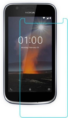 Casecade Tempered Glass Guard for Nokia 1 (Tempered Glass)(Pack of 1)