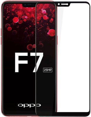 DHAN GTB Tempered Glass Guard for OPPO F7(Pack of 1)