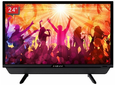 View Kevin 60cm (24 inch) HD Ready LED TV(KN24SB)  Price Online