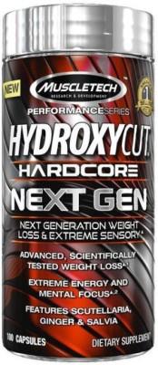 Muscletech Hydroxycut Hardcore Next Gen (100 Capsules) Unflavoured