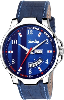 Rorlig RR-2072 Day and Date Watch  - For Men