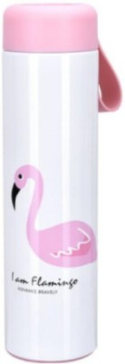Benison India Flamingo Vacuum Flasks Cups Stainless Steel Thermos Girls ins Pink Coffee Mug Tumbler Portable Water Bottles Thermocup 500 ml Shaker(Pack of 1, Multicolor)  available at flipkart for Rs.765