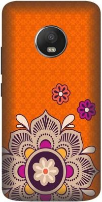 Golden Owl Back Cover for Motorola Moto G5 Plus Multicolor