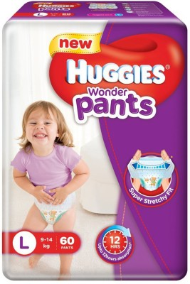 Huggies Wonder Pants Diapers (60 PCS, L)