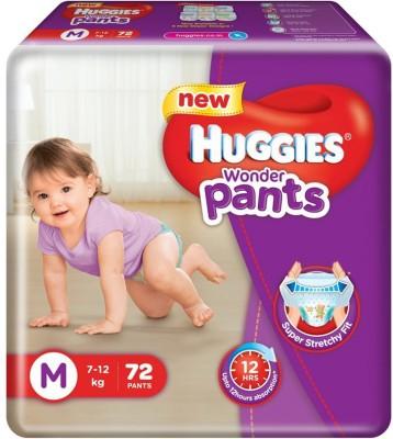 Huggies Wonder Pants Medium Size Diapers  72 Count    M