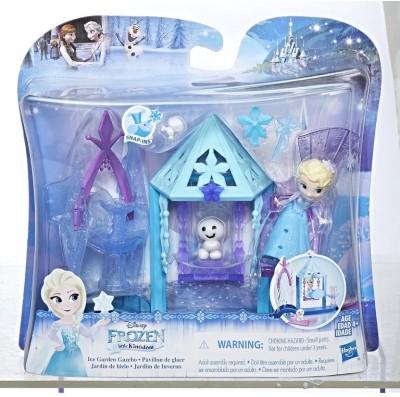 Disney Frozen Sd Elsa Ice Garden Gazebo Playset(Multicolor)