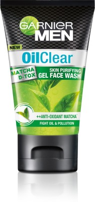 Garnier Men Oil Clear Skin Purifying facewash Face Wash(50 g)  available at flipkart for Rs.95