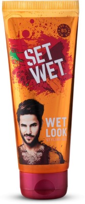 Set Wet Wet Look Gel Hair Styler  available at flipkart for Rs.95