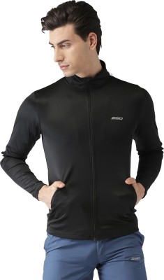 2GO Full Sleeve Solid Men Jacket