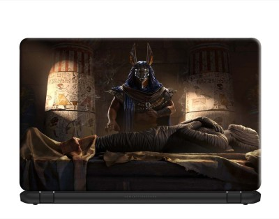 100yellow Assassin'S Creed Origins Gaming Laptop Skin Decal 15.6 Inch for Dell HP Acer Asus Lenovo PVC Vinyl Laptop Decal 15.6