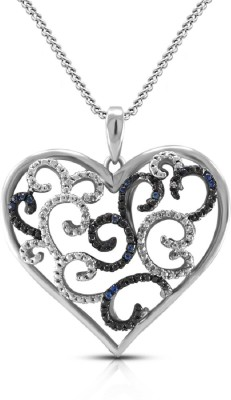 Vorra Fashion Dazzling Heart Shape 925 Silver Women