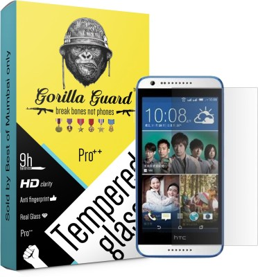 Gorilla guard Tempered Glass Guard for HTC Desire 620 5inch(Pack of 1)