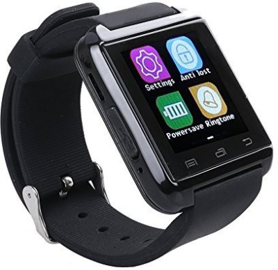 MOBILE LINK U8.BLACK.AM13 phone BLACK Smartwatch(Black Strap FREE SIZE)