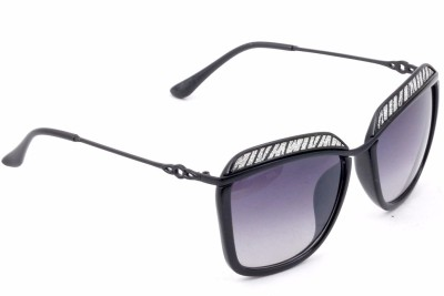 Urbantra Retro Square Sunglasses(For Girls)