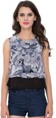 Go India Store Casual Sleeveless Floral Print Women