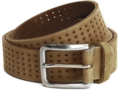 Peter England Men Brown Genuine Leather Belt