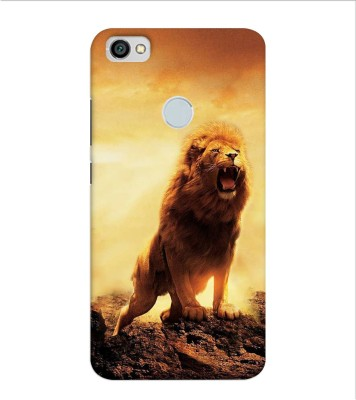 OBOkart Back Cover for Mi Redmi Y1, Mi Redmi Y1(Lion of the tribe, Shock Proof, Plastic)