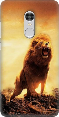 OBOkart Back Cover for Mi Redmi Note 4(Lion of the tribe, Shock Proof, Plastic)