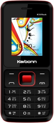 Karbonn K19 Rock(Black & Red)