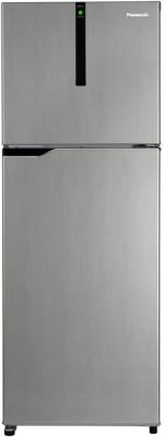 Panasonic 307 L Frost Free Double Door 3 Star  2019  Refrigerator Silver, NR BG311VSS3 Panasonic Refrigerators