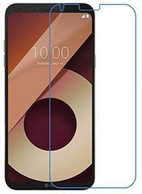 DSCASE Tempered Glass Guard for LG Q6(Pack of 1)