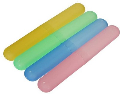upalabdh Set of 4 Toothbrush case Cover Toothbrush Holder Toothbrush Case(Pack of 4)