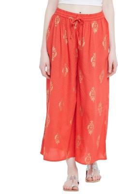 Rangmanch by Pantaloons Regular Fit Women Blue Trousers